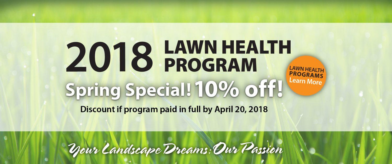 Spring Special 10% off until April 20, 2018