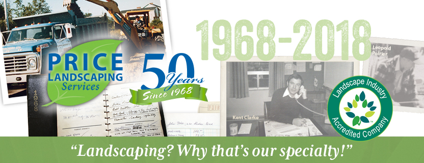 Price Landscaping Celebrating 50 Years